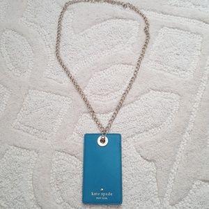 Kate Spade Lanyard Keychain Card Holder Cameron